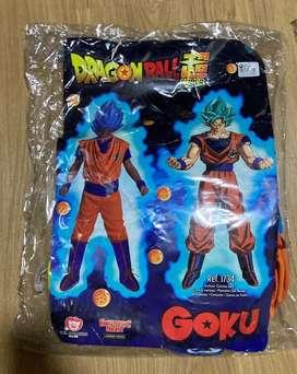 Vendo Disfraces Dragon Ball Super talla 8 y 6 a 12 meses