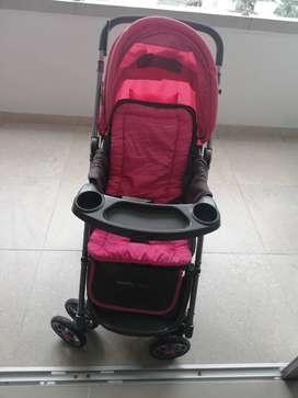 Coche Happy Baby rosado