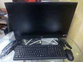 PC TODO EN 1  Marca HP  Procesador AMD RYZEN 5 3500u  4 GB RAM  1 TERA DISCO DURO  MOUSE GAMER  10/10