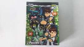 Art 367 Rompecabezas Ben 10 2 en 1 Puzzles Cartoon Network