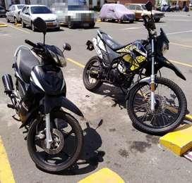 Motos UM 125 MOD 2016 Y UNI-K 110 MOD 2014.