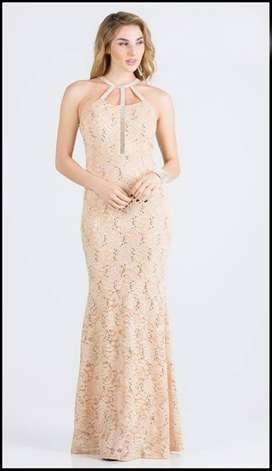 Vestido de Gala Verde Largo Ref:01647