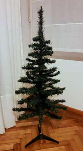 Arbol de Navidad de 1.20m de alto más Estrella Navideña