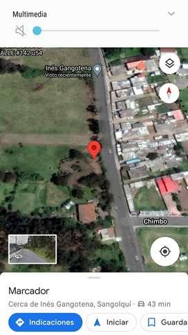 Vendo terreno 2411m2 en Inchalillo -Sangolquí
