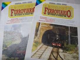 Modelismo Ferroviario -paso a paso  Fasciculo 1+2 -