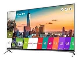 "Televisor Smart TV LG 55"" 4K Ultra HD wifi y bluetooth"
