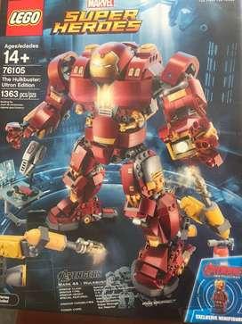 Lego Iron man Hulkbuster de Vengadores 2