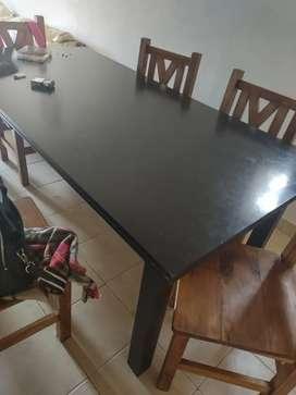 Vendo mesa melamina SOLO MESA