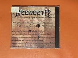 Megadeth Foreclosure of a Dream 1992 cd single original