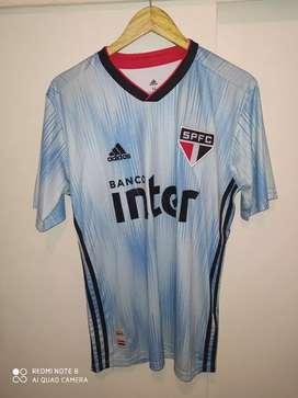 Camiseta San Pablo suplente celeste 2020 Dani Alves