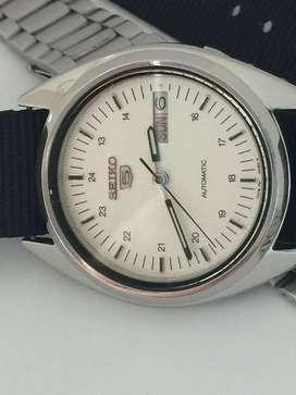 Reloj Seiko 5 Automatico - Top Gear - JARR