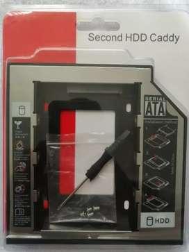 Caddy dvd para disco portatil