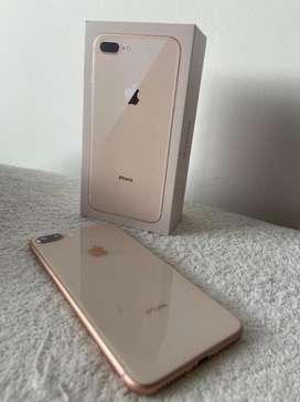 Iphone 8 plus Golden de 64 GB