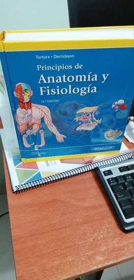 Libro Tortora 13va edición principios de Anatomía y fisiología