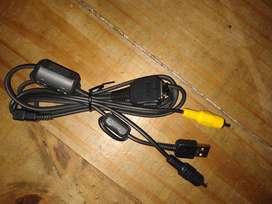 Trípode Y Cable para Cámara Digital