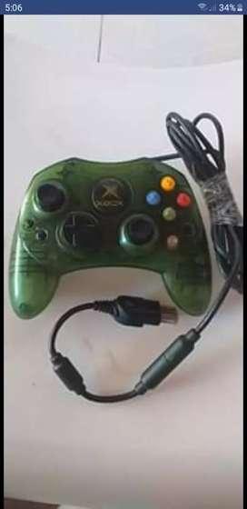 Control y juegos Xbox clásico