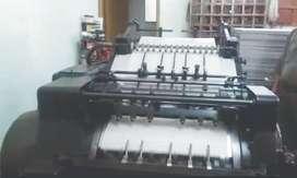 troqueladora heidelbeg cylinder 52 x 38 y kord 64 x 46