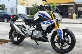 Ocasión moto BMW G310r 2019 970km Nuevecita! N0 cbr300 honda yamaha mt03 r3 kawasaki ninja 300 400 suzuki 250
