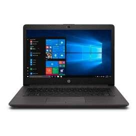 Portatil HP 250 G7 Core i7-8265U, DD 500GB, 8MB RAM, + Maletín. Caja Sellada.