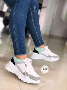 Tenis sneakers dama