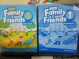 Libros de ingles family and friends 1