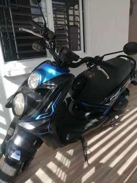 Bws 125 negro azul