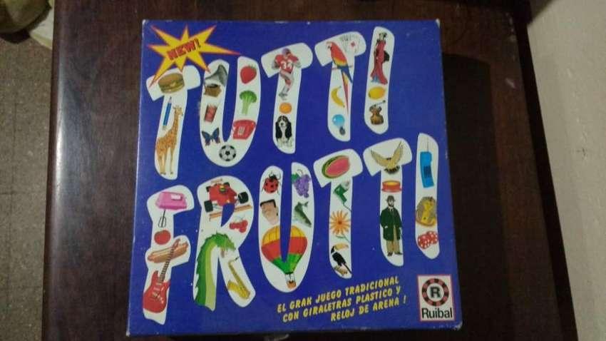 Vendo Juego Tutti Fruti Impecable 0