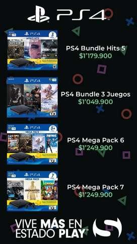 PS4 BUNDLE NUEVO DESDE 1.049.900