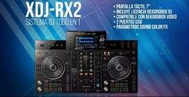 DJ CONTROLADOR  TODO EN UNO , PIONEER DJ XDJ RX2