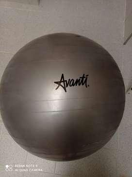 Balón fisioterapia Avanti 65cm gris