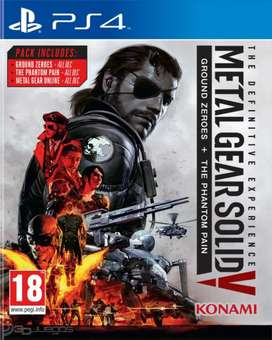 Metal Gear Solid V edicion definitiva