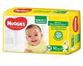 Pañales Huggies Hiper Pack