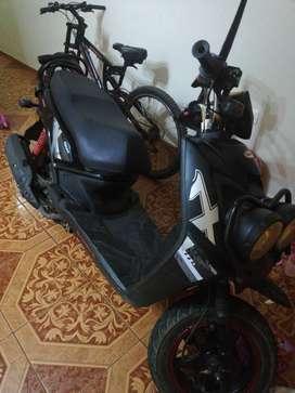 Moto scooter barsha