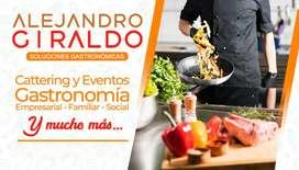 Eventos, gastronomía y catering