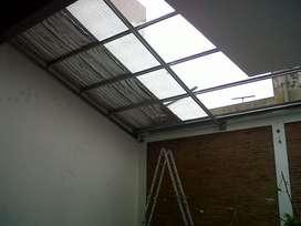 techo ,quincho, galeria, garage, antigranizo