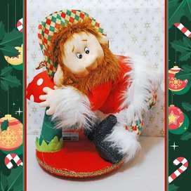 Duende navideño culipelao