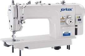 MAQUINA INDUSTRIAL RECTA JONTEX electronica  NUEVA CON MOTOR Y TABLERO