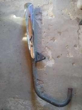 Caño de escape cerro 150cc