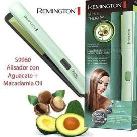 Plancha original para cabello remingtonMacadamia y aguacate