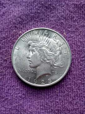 Venta moneda usa PEACE 1923