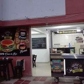 Montaje para local de comidas rapidas de segunda. Precio negociable