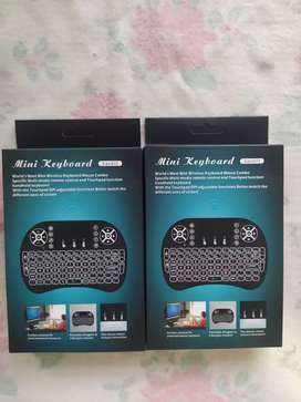 Mini keyboard para computador televisor