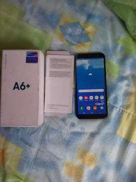Samsung A6  plus Negro 2018