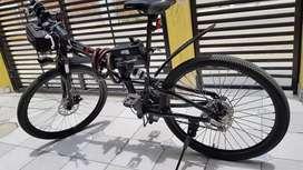 Bicicleta eléctrica marca feier pedaleo asistido