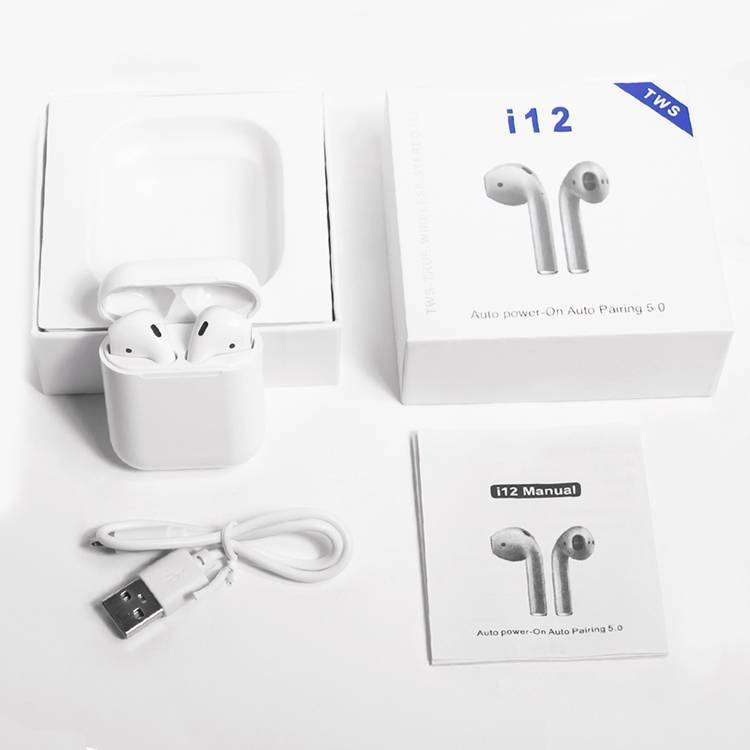 Auriculares Inalambricos I12 Tws Touch Bluetooth