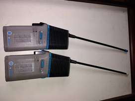 General Electric Starcode 11 Walkie Talkies Morse Code With Clip 49 Mhz Band
