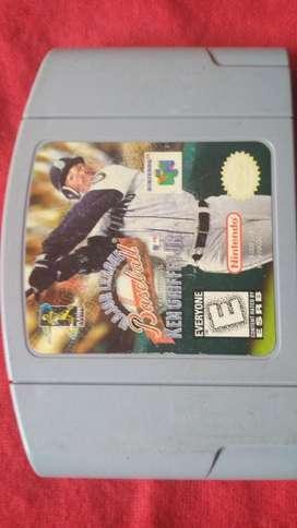 Nintendo 64major League Baseball Featuring Ken Griffey Jr.