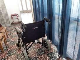 Vendo silla de ruedas merits