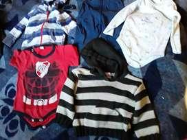Lote ropa de bebe baron