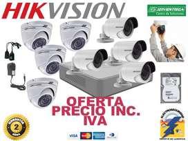 instalación 8 cámaras de seguridad